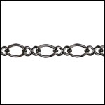 Figure 8 chain GUNMETAL- per 25ft SPOOL