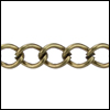 small curb chain ANT. BRASS