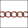 small curb chain ANT. COPPER