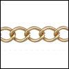 small curb chain MATTE GOLD