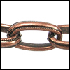 medieval chain ANT. COPPER - per 25ft spool