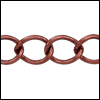 medium curb chain ANT. COPPER