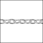 STERLING SILVER Chain 16 per foot
