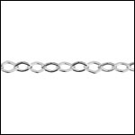 STERLING SILVER Chain 33 per foot