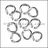 8mm jump ring STERLING SILVER - per 10 pieces