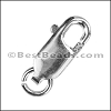 10x4 lobster clasp STERLING SILVER - per 10 pieces