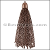 Dome Cap Tassel ANT COPPER - per piece