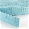 10mm flat CORK BABY BLUE - per 2 meters