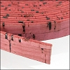 10mm flat CORK DUSTY ROSE - per 20m SPOOL