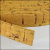 10mm flat CORK MUSTARD - per 2 meters