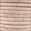 5mm round CORK PEACH - meter