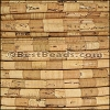 5mm round STRIPED cork NATURAL - meter