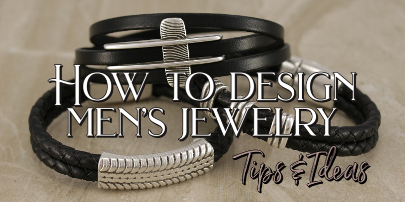 Men's Leather Jewelry Designs
