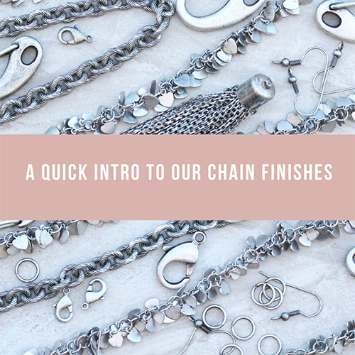 Base Metal Chain Finishes