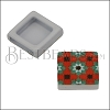 10mm Flat RED/GREEN TILE Slider 1 - 10 pcs