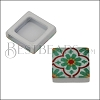 10mm Flat RED/GREEN TILE Slider 2 - 10 pcs