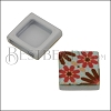 10mm Flat RED/GREEN TILE Slider 3 - 10 pcs