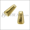 18mm Tag Charm SHINY GOLD - per 10 pieces