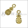MINI Pineapple Charm SHINY GOLD - per 10 pieces