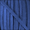 4mm Flat SUEDE lace BLUE - 20m SPOOL