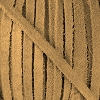 4mm Flat SUEDE lace NATURAL - per 20m SPOOL