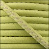 5mm round ARIZONA stitched leather KEY LIME GREEN - per 10m SPOOL