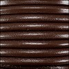 4mm round Euro leather BROWN - meter
