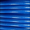 5mm round Euro leather ELECTRIC BLUE - per 20m SPOOL