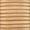 5mm round Euro leather NATURAL - per 20m SPOOL