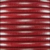 5mm round Euro leather DISTRESSED RED - per 20m SPOOL