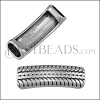 5mm DOUBLE TIRE TREAD slider bead - 10 pcs