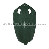 Full Stingray Hide DARK EVERGREEN