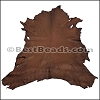 Full Hide - CHOCOLATE BROWN DEER SKIN HIDE