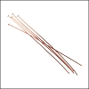 Head Pin 2 inch 24 gauge COPPER - per 144 pieces