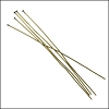 Head Pin 2 inch 24 gauge ANT.BRASS - per 144 pieces