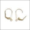 Leverback Earrings GOLD PLATE - per 72 pieces