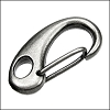 31mm CLIP lobster clasp GUNMETAL - per 10 pieces