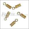 Crimp with Loop GOLD - 144 pcs