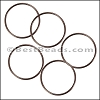 Round Wire Ring from CH-52 ANT COPPER - 10 pcs