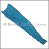 SALMON leather skin EGYPTIAN BLUE- per 1 hide