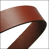 30mm STRIP flat leather TAN - approx. 3 feet