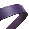 30mm STRIP flat leather DEEP PURPLE - approx. 3 feet