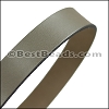 30mm STRIP flat leather PUTTY - approx. 3 feet