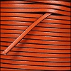3mm flat leather RUST - per 5 meters