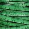 10mm flat BARK leather GREEN - meter