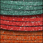 Glitter Leather 5mm