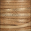 5mm flat LUXOR leather CAMEL - per 5 meters