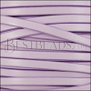 5mm flat leather CANDY LILAC - meter