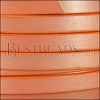 10mm flat leather CANDY SHIMMER ORANGE - meter