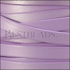 10mm flat leather CANDY SHIMMER LILAC - meter